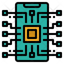 Technology Ai Phone Icon