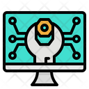 Computer Maintenance Fix Icon