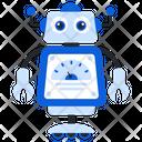 Ai Timer Bionic Man Humanoid Icon