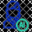 Iai User Ai User Artificial Intelligence User Icon