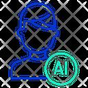 Iuser Ai Ai User Ai Technology User Icon