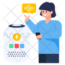 Smart Voice Assistant Ai Voice Assistant Voice Assistant Device Icon