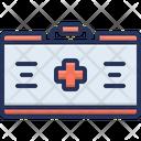 Kit Fast Aid Kit Helthcare Icon