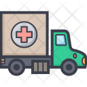 Aid Truck Ambulance Icon