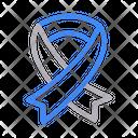 Aids Ribbon Disease Icon