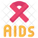 Aids Ribbon Hiv Icon