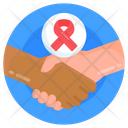 Aids Hands Icon