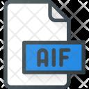 Aif File Audio Icon