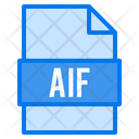 Aif File File Types Icon