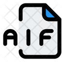 Aif File Audio File Audio Format Icon