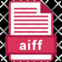 Aiff File Formats Icon