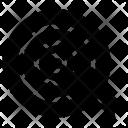 Aim Dart Board Icon