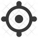 Aim Business Goal Market Target Icon