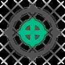 Aim Target Scope Icon