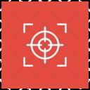 Aim Goal Focus Icon