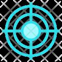 Aim Goal See Icon
