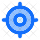 Aim Objective Target Icon