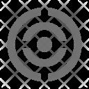Aim Bullseye Dartboard Icon