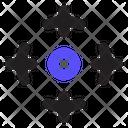 Aim Crosshair Goal Icon