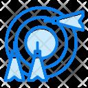 Aim Arrow Goal Icon