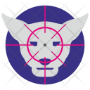 Aim Hunter Tiger Icon