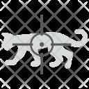 Aim Target Tiger Icon