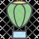 Air Balloon Parachute Icon