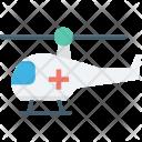 Air Ambulance Emergency Icon