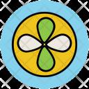 Air Fan Turbine Icon