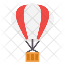 Air Ballon Fly Icon