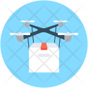Air Delivery Freight Icon
