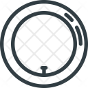 Air Leak Tire Icon