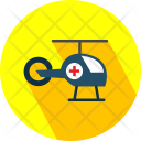 Air Ambulance Helicopter Icon