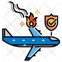 Air Accident Insurance Flight Icon