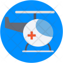 Helicopter Air Ambulance Icon