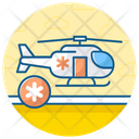 Air Ambulance Medical Helicopter Chopper Icon