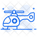 Medical Helicopter Ambulance Chopper Medevac Icon