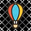 Air Balloon Balloon Air Transportation Icon