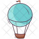 Hot Air Balloon Fire Balloon Barrage Balloon Icon