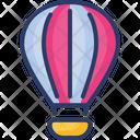 Parachute Supply Air Icon