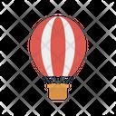 Air Balloon Fly Travel Icon