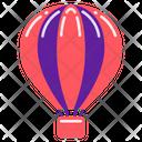 Air Balloon Adventure Holiday Icon