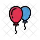 Balloon Air Decoration Icon