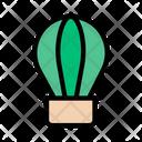 Airballoon Travel Tour Icon