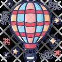 Hot Air Balloon Air Flight Adventure Icon