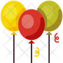 Celebration Party Decoration Icon