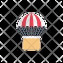 Parachute Sport Airballoon Icon
