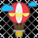 Air Balloon Hot Icon