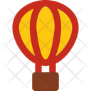 Travel Flat Air Balloon Icon