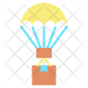 Air Balloon Delivery Shipping Delivery Box Delivery Icon